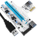 PCIe Riser 1x-16x GPU Express Extender Kabel Cable USB...