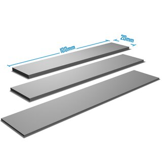 Silverbead Wärmeleitpad [100x20mm] [TP100X]  Thermalpad GPU RAM Heatsink