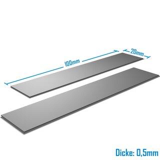 Silverbead Wärmeleitpad [100x20x0,5mm] [2 Stück] [TP100X]  Thermalpad GPU RAM Heatsink