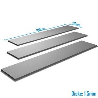 Silverbead Wärmeleitpad [100x20x1,5mm] [3 Stück] [TP100X]  Thermalpad GPU RAM Heatsink
