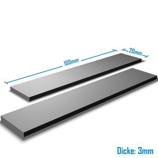 Silverbead Wärmeleitpad [100x20x3,0mm] [2 Stück] [TP100X]  Thermalpad GPU RAM Heatsink
