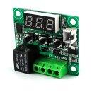 Silverbead Thermostat 12V DC digitaler Temperaturschalter Temperatur Regler [-50-110°C] mit Temperatursensor
