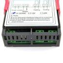 Digitaler Temperaturregler Thermostat AC 110V-220V Heizungskühlung mit NTC Sensorsonde [-50-99 °C] STC-1000